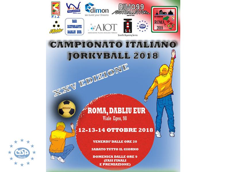 Sport | Jorkyball, dal 12 al 14 ottobre la XXV edizione del Campionato Nazionale