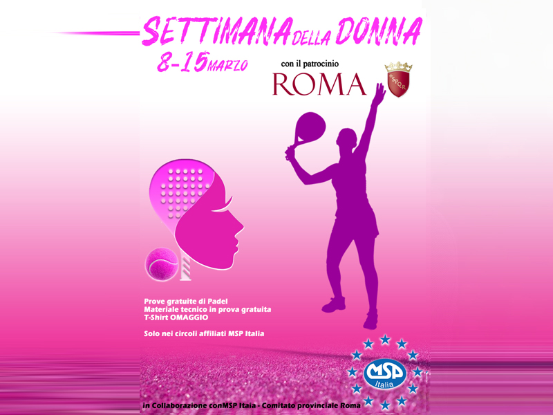 Msp Roma | Settimana della donna