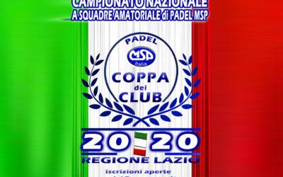 Coppa dei Club 2020 | Aperte le iscrizioni