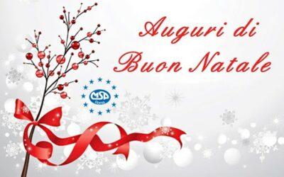 Auguri di Buon Natale dal MSP Roma