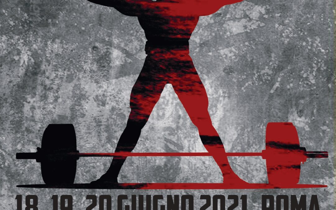 Roma, Classic FIAP di Powerlifting/Pesistica dal 18 al 20 giugno: programma ed iscrizioni – PDF